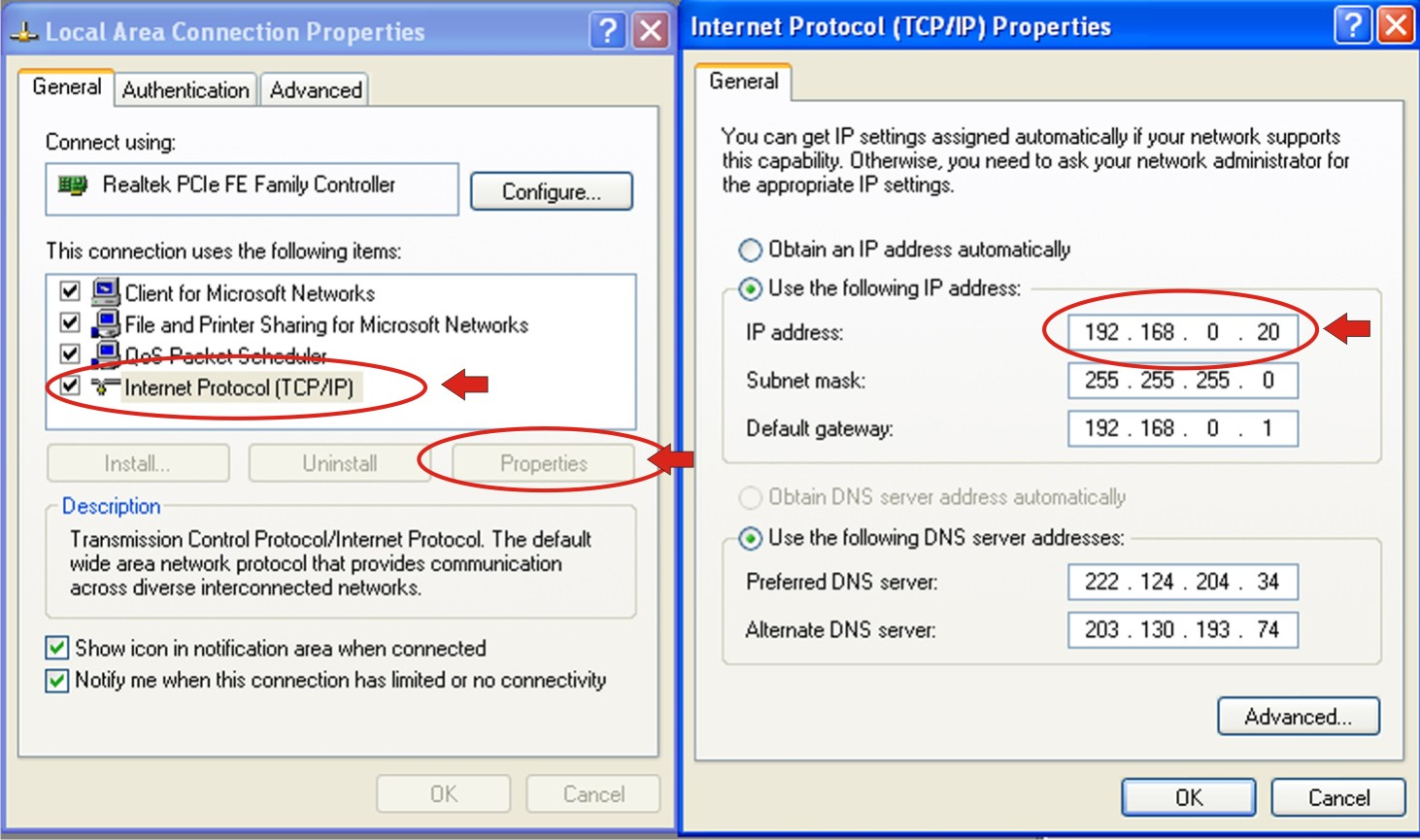 ip address How to find the ip address of your pc when your pc is connected to a network, it is assigned an address on the network called an ip address if the pc is.